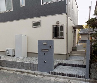 奈良市 U様邸 新築外構工事