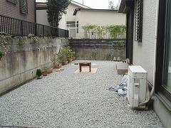 生駒市 K様邸 庭工事
