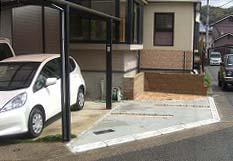 生駒市 Y様邸 駐車場増設工事