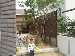 奈良市 Y様邸 庭工事