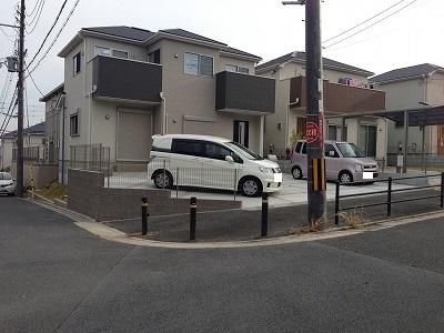 京都府木津川市 K邸 リフォーム外構工事 ガレージ拡張