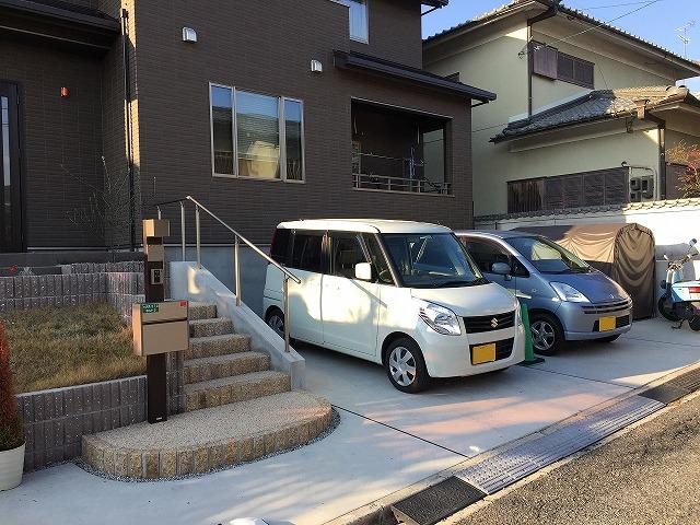 奈良市 W様邸 カーポート工事